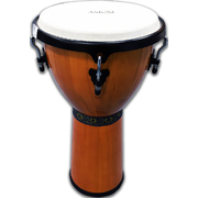 "Djembe - 12"" Natural Timber Djembe"