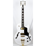 "Columbia Archtop Electric Guitar - ""White Bird"""
