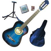 Children's Guitar Pack - 3/4 Size Blue