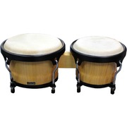 Bongo Drum Set - Natural Finish