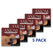 5 Pack - Acoustic Guitar Strings - Light