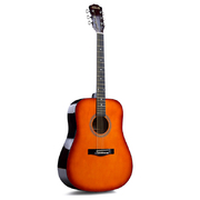 Folkmaster Full Size steel String Guitar - Cherry Burst