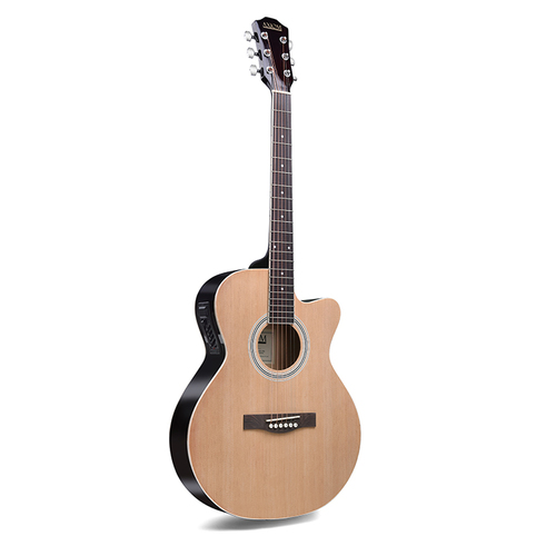 Gigmaster Steel String Guitar with Pickup - Natural